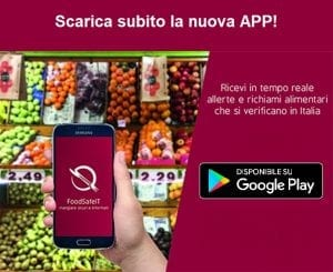 FoodSafeIT_Aggiornamento_App_PlayStore